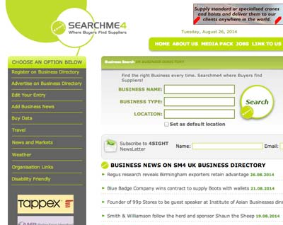 The free to register SearchMe4 Business Directory as part off your off-page SEO strategy.