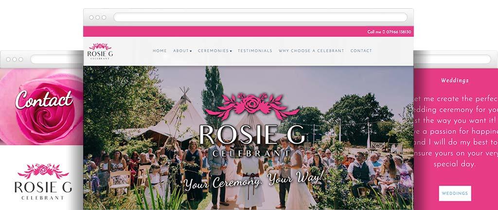 Celebrant web design