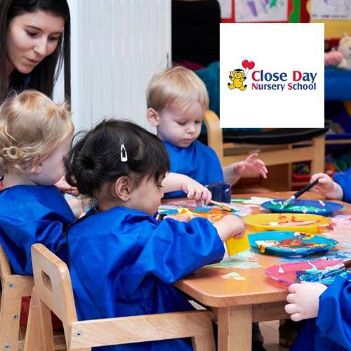 Child nursery website design