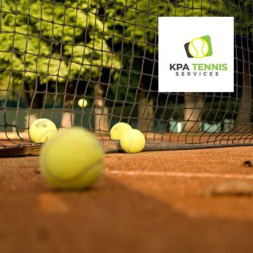 Tennis court installer website design
