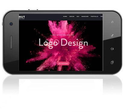 Edit website on a mobile